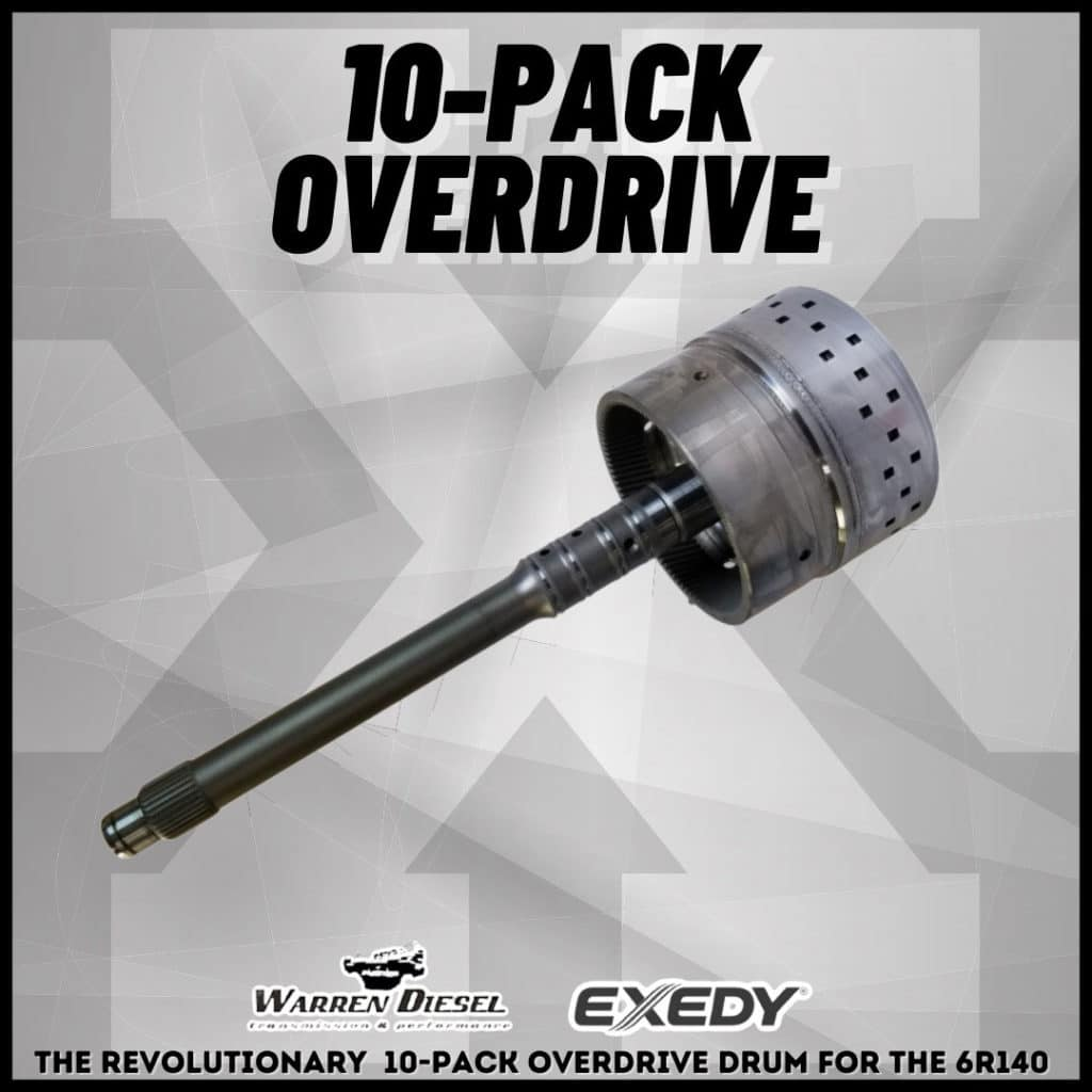 10-pack overdrive for 6r140