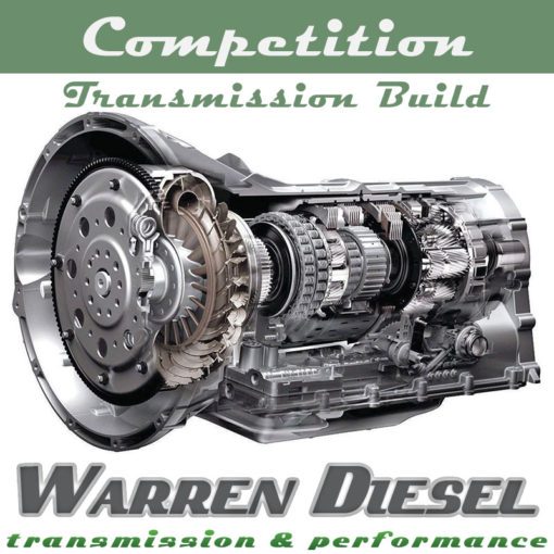 6r140 competition transmission build