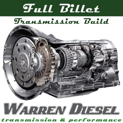 6r140 full billet transmission build