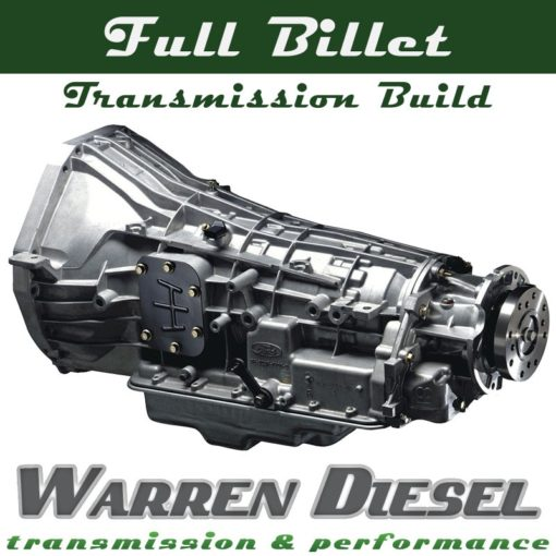 Full Billet Transmission Build